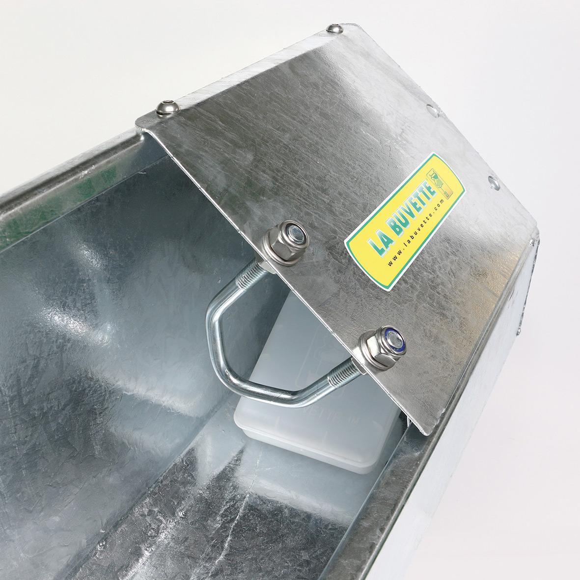 OVICAP 120 Tränkebecken aus verzinktem Stahl