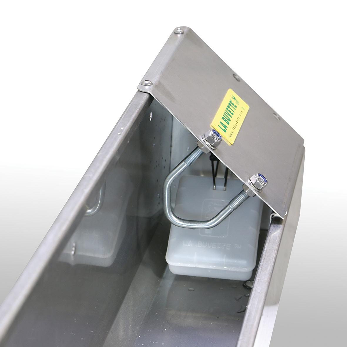 OVICAP INOX 240 Tränkebecken aus Edelstahl