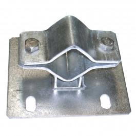 Befestigungsbügel unerlässlich für die Rohrmontage (Ø 50 - 75 mm)