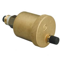 Automatisches Entlüftungsventil an jedem Hochpunkt  der Leitung zu installieren