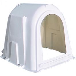 Weisse Hütte für 1 Kalb bis zu 4 Wochen