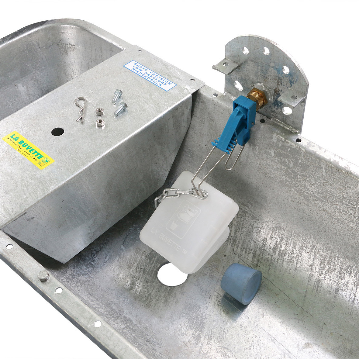 GALVALAC 65T float valve and draining